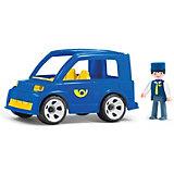 Машинка Efko Почтовый автомобиль с водителем, 17 см