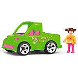 Машинка Efko Автомобиль службы озеленения с водителем, 17 см