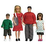 """Набор кукол для домика Lundby """"Смоланд"""" Cемья, 1:18"""