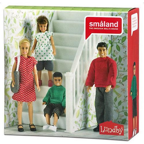 """Набор кукол для домика Lundby """"Смоланд"""" Cемья, 1:18 от Lundby"""
