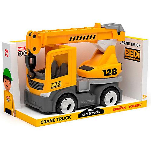 Машинка Efko Строительный грузовик-кран, 22 см от Efko