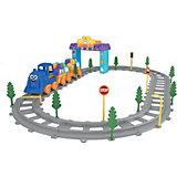 """Железная дорога Terides """"Волшебные детали"""" Поезд, 62 предмета"""