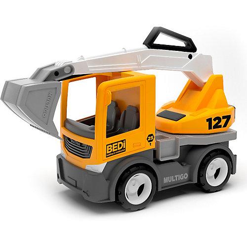 Машинка Efko Строительный грузовик-экскаватор, 22 см от Efko