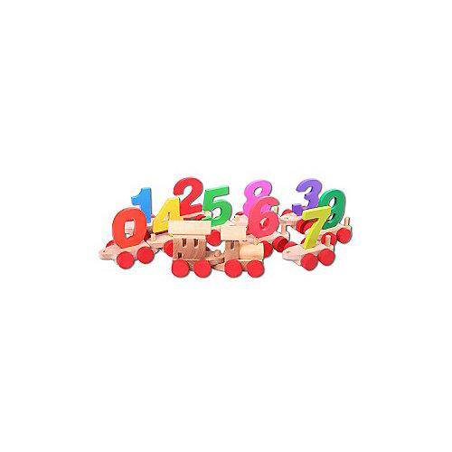 Игровой набор Paremo Паровозик с цифрами от PAREMO