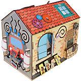 Бизиборд Paremo Чудный домик, 18 элементов