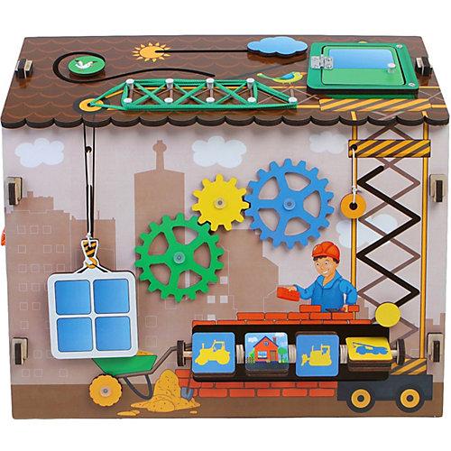 Бизиборд Paremo Юный строитель, 18 элементов от PAREMO