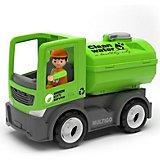 Машинка Efko Городской грузовик с цистерной и водителем, 22 см