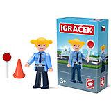 Игровая фигурка Efko Женщина-полицейский, 8 см, с аксессуарами