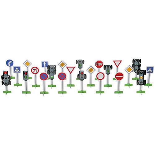 Набор дорожных знаков Efko, 6 см, 23 шт от Efko