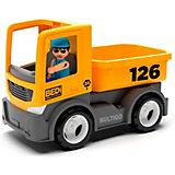 Машинка Efko Строительный грузовик с водителем, 22 см