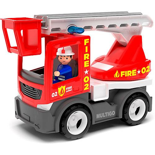 Машинка Efko Пожарный грузовик с лестницей и водителем, 22 см от Efko