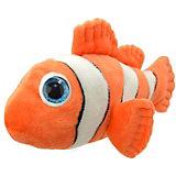 Мягкая игрушка Floppys Рыба-клоун, 25 см