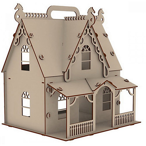 """Домик для кукол Paremo """"Я Дизайнер"""" Загадочная усадьба, 62 элемента от PAREMO"""
