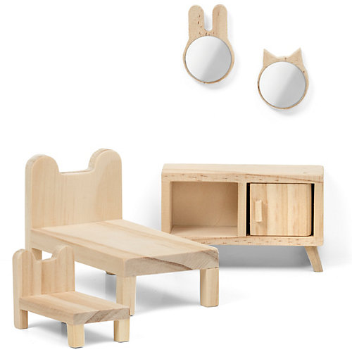 "Набор мебели для домика Lundby ""Сделай сам"" Спальня от Lundby"