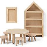 """Набор мебели для домика Lundby """"Сделай сам"""" Столовая"""