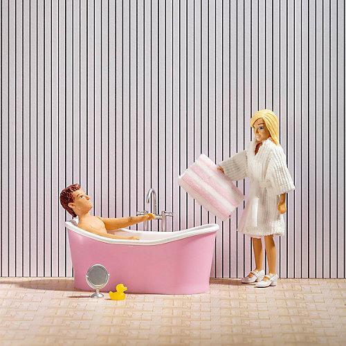 Набор мебели для домика Lundby Ванна с аксессуарами от Lundby