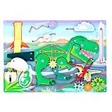 Бизиборд  Paremo Динозавр, 13 элементов