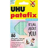 """Клеящие подушечки UHU Patafix """"Пастельные"""", 80 штук"""