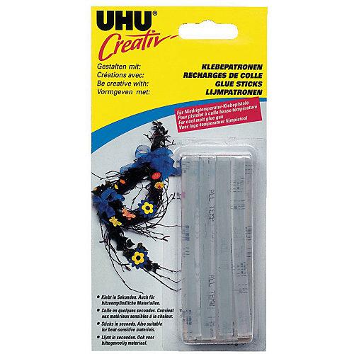 Клеевые патроны UHU Creativ, прозрачные, 15 штук от UHU