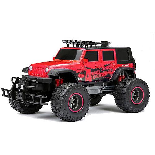 Радиоуправляемая машинка New Brightt Door Jeep 1:12 красный от New Bright
