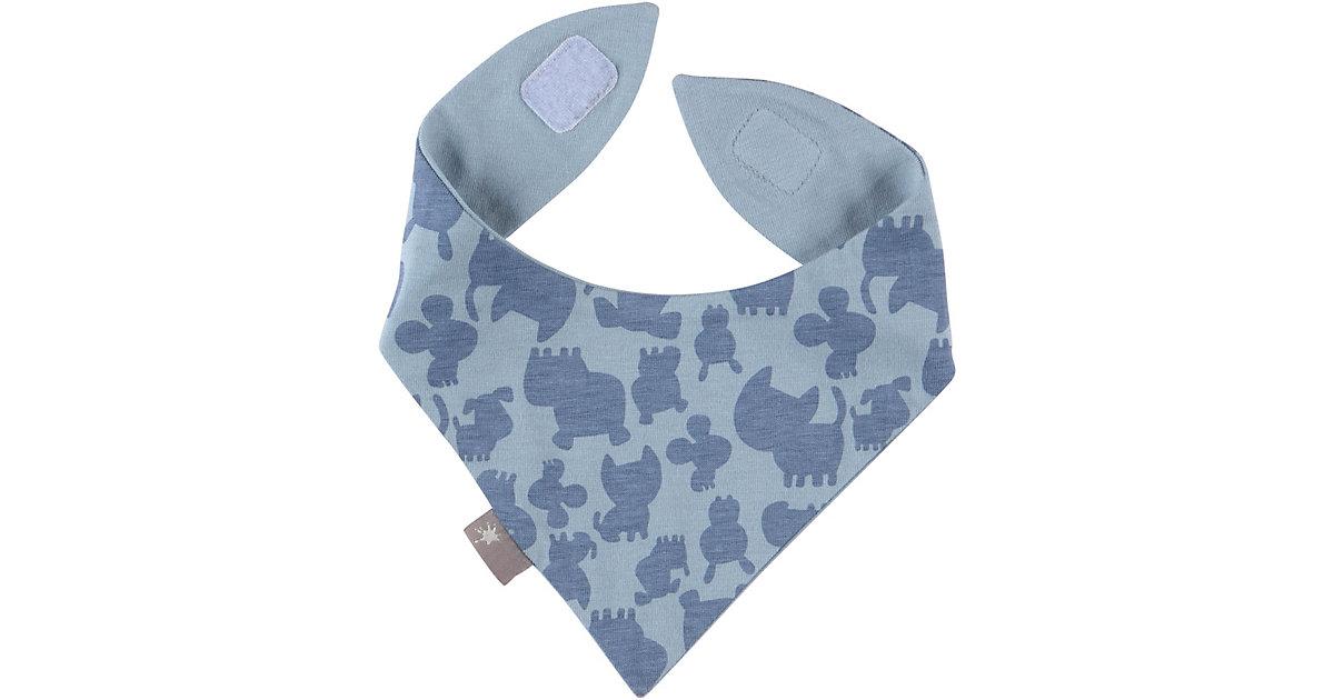 Baby Wendehalstuch , Organic Cotton blau Gr. one size Jungen Kinder