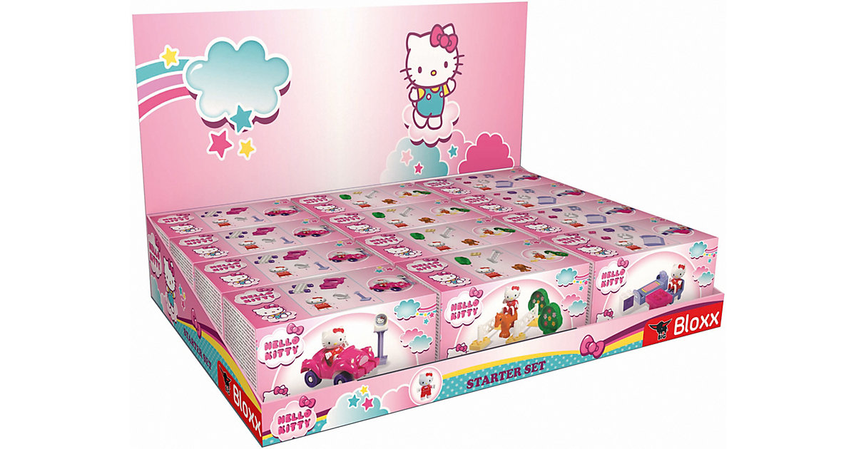 PlayBIG Bloxx Hello Kitty Starter Set, sortiert bunt