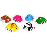 Игровой набор Viking Toys Машинки-животные, 6 шт