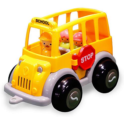 Игровой набор Viking Toys Школьный автобус MIDI с фигурками от Viking Toys
