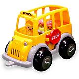 Игровой набор Viking Toys Школьный автобус MIDI с фигурками