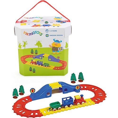 Игровой набор Viking Toys City Железная дорога, 21 элемент от Viking Toys