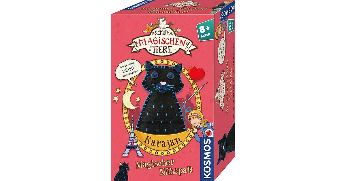 Die Schule der magischen Tiere - Magischer Nähspaß: Kater Karajan schwarz