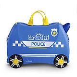 Чемодан на колесиках Полицеская машина Перси, высота 33 см