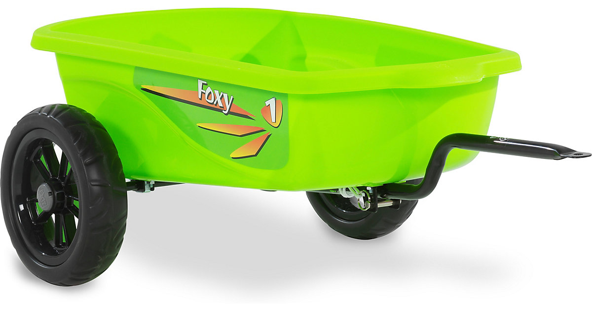 EXIT Foxy Grün Gokart Anhänger, grün