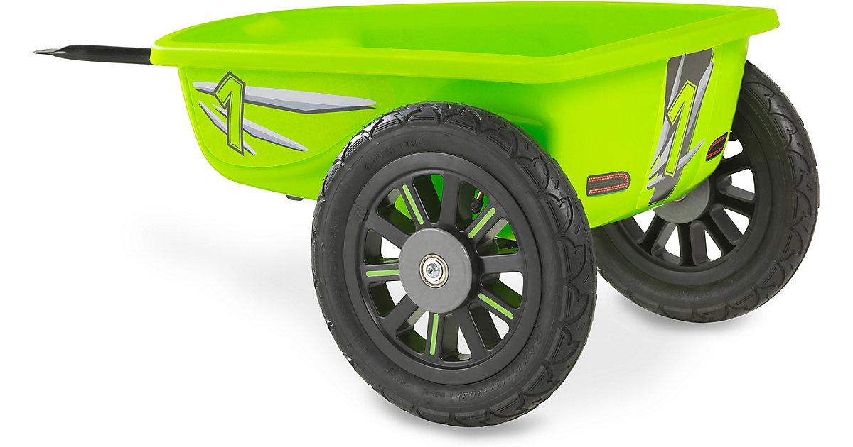 EXIT Spider Grün und Cheetah Gokart Anhänger, grün