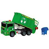 Мусоровоз с контейнером Dickie Toys AirPump, 31 см