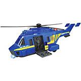 Полицеский вертолет Dickie Toys, 26 см, свет и звук