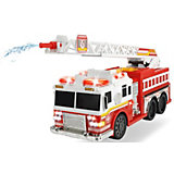 Пожарная машинка Dickie Toys, свет и звук, водяной насос