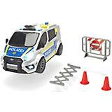 """Машинка Dickie Toys """"Полицеский минивэн Ford Transit"""", 28 см, свет и звук"""