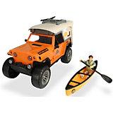 Игровой набор туриста Dickie Toys Jeepster Commando PlayLife, 22 см