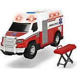Машинка скорой помощи Dickie Toys, 30 см, свет и звук
