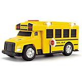 Школьный автобус Dickie Toys, 15 см, свет и звук