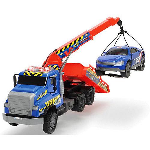 Эвакуатор с машинкой Dickie Toys, 55 см, свет и звук от Dickie Toys