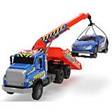 Эвакуатор с машинкой Dickie Toys, 55 см, свет и звук