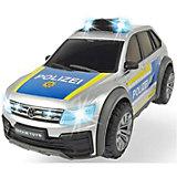 """Машинка Dickie Toys """"Полицейский автомобиль VW Tiguan R-Line"""", 25 см, свет и звук"""