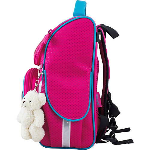 Ранец Winner One 2043 + брелок мишка - розовый от WINNER