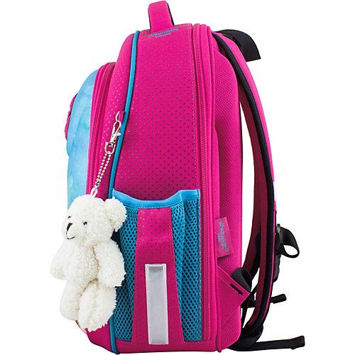 Ранец Winner One 6010 + брелок мишка - розовый от WINNER