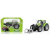 Трактор QunXing Toys с ковшом