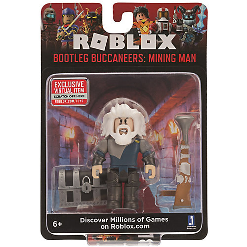 Игровая фигурка Jazwares Roblox Бутлег Букканерс: Горный человек от Jazwares