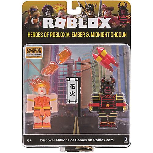Набор фигурок Jazwares Roblox Герои Роблоксии: Эмбер и Полуночный Сёгун от Jazwares