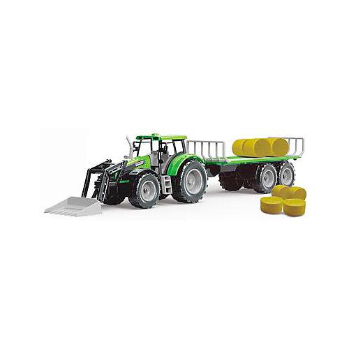 Трактор QunXing Toys с тюками сена от QunXing Toys